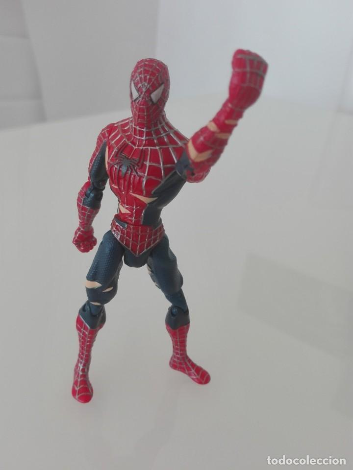 Figuras y Muñecos Marvel: SPIDERMAN MARVEL FIGURA ARTICULADA TOY BIZ - Foto 3 - 157665214