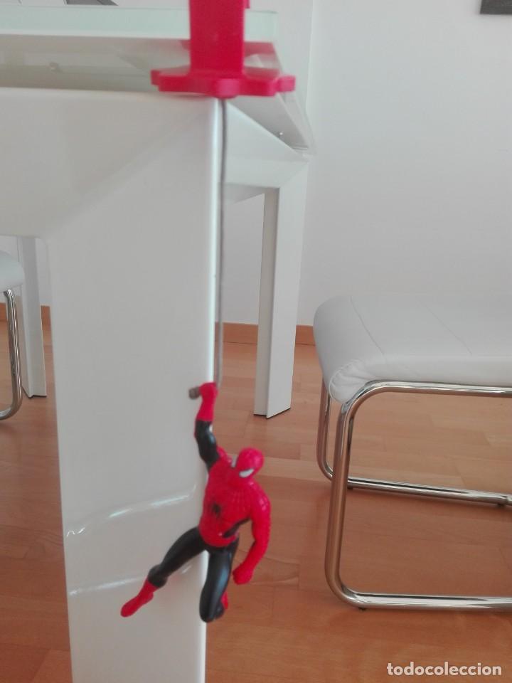 Figuras y Muñecos Marvel: SPIDERMAN MARVEL FIGURA ARTICULADA COLGANTE MUY RARA - Foto 2 - 157665626