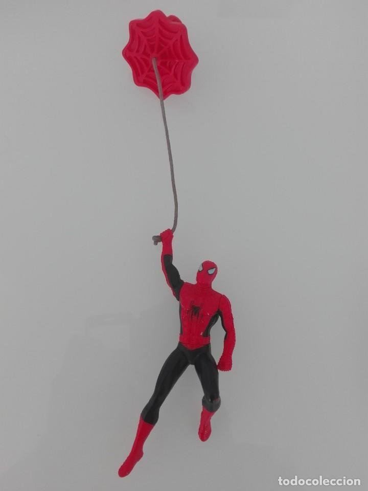 Figuras y Muñecos Marvel: SPIDERMAN MARVEL FIGURA ARTICULADA COLGANTE MUY RARA - Foto 3 - 157665626