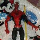 Figuras y Muñecos Marvel: ENORME FIGURA ARTICULADA DE SPIDERMAN, EL HOMBRE ARAÑA (45CM) DE MARVEL, CON DEFECTOS, VER FOTOS. Lote 159591650
