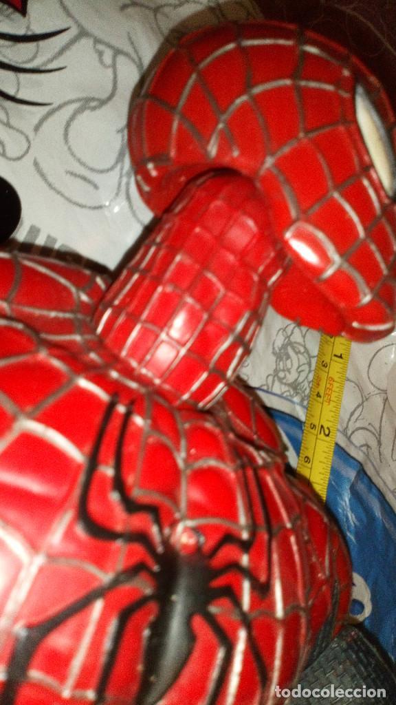 Figuras y Muñecos Marvel: ENORME FIGURA ARTICULADA DE SPIDERMAN, EL HOMBRE ARAÑA (45cm) DE MARVEL, CON DEFECTOS, VER FOTOS - Foto 4 - 159591650