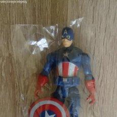 Figuras y Muñecos Marvel: FIGURA CAPITAN AMERICA MARVEL 10 CM. Lote 161377646