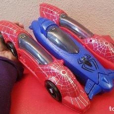 Figuras y Muñecos Marvel: COCHE SPIDERMAN MARVEL 2010 HASBRO JUGUETE HOMBRE ARAÑA VEHICULO . Lote 161588706
