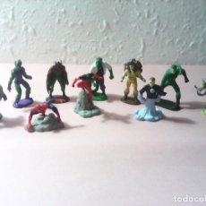 Figuras y Muñecos Marvel: SPIDERMAN LOTE FIGURAS VILLANOS Y HEROES 6 CM. Lote 163111594