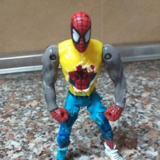 Figurines et Jouets Marvel: FIGURA SPIDERMAN TOY BIZ 1999 CAZADORA DAILY BUGGLE. Lote 163624882