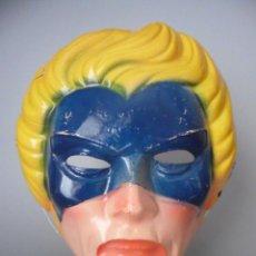 Figuras y Muñecos Marvel: VINTAGE MARVEL 1979 CAPTAIN MARVEL CARETA DE PLASTICO MIRETE SPAIN. Lote 165260418