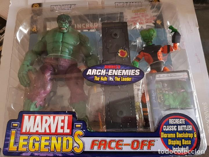 FIGURA MARVEL LEGENDS FACE-OFF THE HULK EN BLISTER ORIGINAL (Juguetes - Figuras de Acción - Marvel)