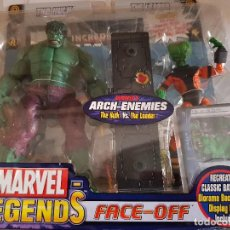 Figuras y Muñecos Marvel: FIGURA MARVEL LEGENDS FACE-OFF THE HULK EN BLISTER ORIGINAL . Lote 166665858