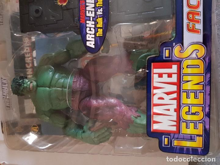Figuras y Muñecos Marvel: Figura Marvel Legends Face-Off The Hulk en Blister original - Foto 2 - 166665858