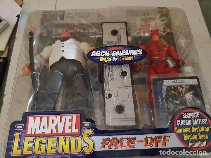 FIGURA MARVEL LEGENDS FACE-OFF EN BLISTER KINGPIN (Juguetes - Figuras de Acción - Marvel)