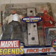 Figuras y Muñecos Marvel: FIGURA MARVEL LEGENDS FACE-OFF EN BLISTER KINGPIN. Lote 166666122