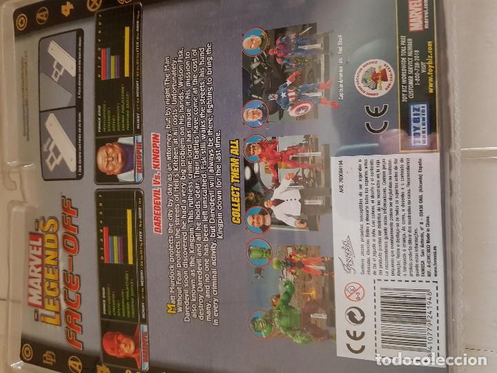 Figuras y Muñecos Marvel: Figura Marvel Legends Face-Off en blister Kingpin - Foto 4 - 166666122