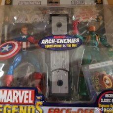 Figuras y Muñecos Marvel: FIGURA MARVEL LEGENDS FACE-OFF EN BLISTER CAPTAIN AMÉRICA. Lote 166666386