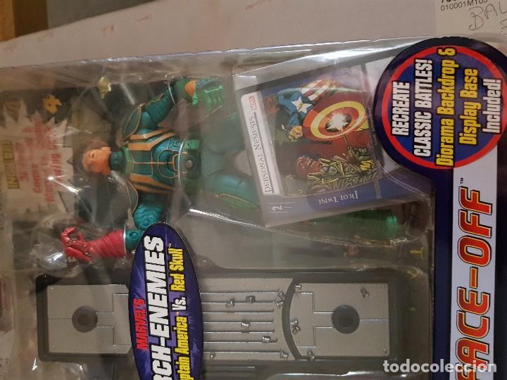 Figuras y Muñecos Marvel: Figura Marvel Legends Face-Off en blister Captain América - Foto 3 - 166666386
