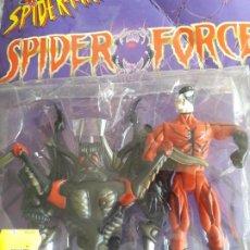 Figuras y Muñecos Marvel: MUÑECO PVC SERIE SPIDERMAN SPIDER FORCE TARANTULA ARTICULADO 14 CM LEER DESCRIPCION. Lote 167990860