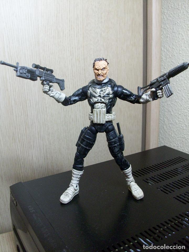 MARVEL LEGENDS CASTIGADOR JIGSAW PUZZLE FACE OFF TOYBIZ SERIES (Juguetes - Figuras de Acción - Marvel)
