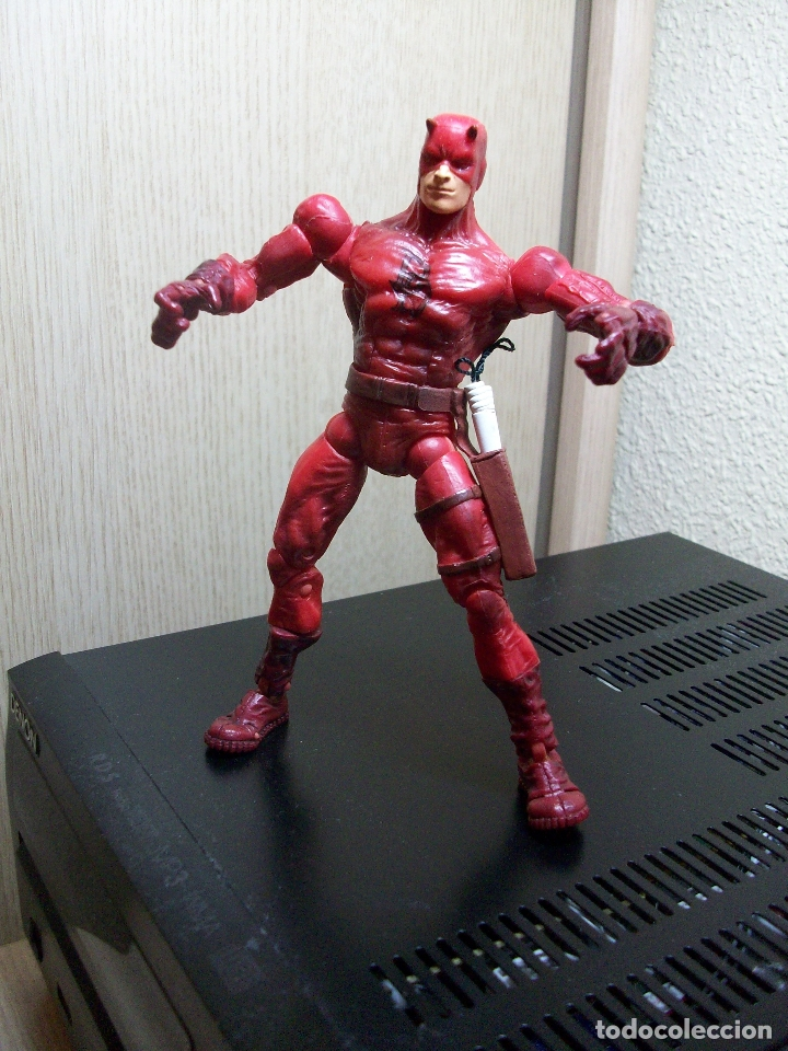MARVEL LEGENDS DAREDEVIL FACE OFF PACK TOYBIZ SERIES (Juguetes - Figuras de Acción - Marvel)