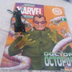 Figuras y Muñecos Marvel: MARVEL SUPER HEROES FIGURA PLOMO DOCTOR OCTOPUS CON FASCÍCULO N 3 ALTAYA. Lote 168301092