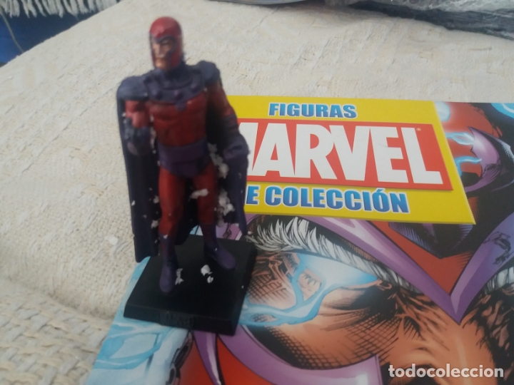 Figuras y Muñecos Marvel: MARVEL SUPER HEROES FIGURA PLOMO MAGNETO CON FASCÍCULO N 5 ALTAYA - Foto 2 - 168301248