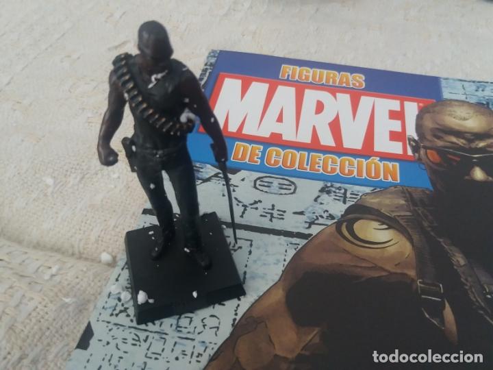 Figuras y Muñecos Marvel: MARVEL SUPER HEROES FIGURA PLOMO BLADE CON FASCÍCULO N 8 ALTAYA - Foto 2 - 168301344