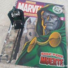 Figuras y Muñecos Marvel: MARVEL SUPER HEROES FIGURA PLOMO DOCTOR MUERTE CON FASCÍCULO N 12 ALTAYA. Lote 168301616