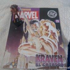 Figuras y Muñecos Marvel: MARVEL SUPER HEROES FIGURA PLOMO KRAVEN EL CAZADOR CON FASCÍCULO N 23 ALTAYA. Lote 168301976