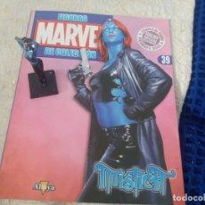Figuras y Muñecos Marvel: MARVEL SUPER HEROES FIGURA PLOMO MISTICA CON FASCÍCULO N 39 ALTAYA. Lote 168302376