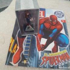 Figuras y Muñecos Marvel: MARVEL SUPER HEROES FIGURA PLOMO SPIDERMAN BLISTER CON FASCÍCULO N 1 ALTAYA. Lote 168302784
