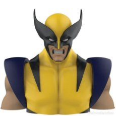 Figuras y Muñecos Marvel: LOBEZNO HUCHA BUSTO PVC DELUXE 20CM MARVEL. Lote 168791244