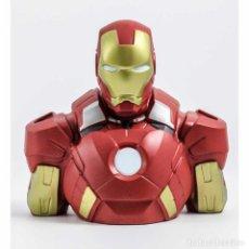 Figuras y Muñecos Marvel: IRON MAN HUCHA BUSTO PVC DELUXE 20 CM MARVEL. Lote 169730684