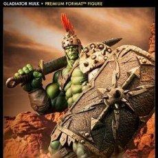 Figuras y Muñecos Marvel: HULK GLADIATOR SIDESHOW PREMIUM FORMAT ESTADO COMO NUEVO MIRE MAS ARTICULOS. Lote 170895375