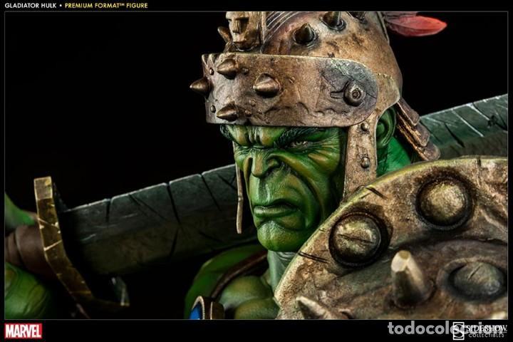 Figuras y Muñecos Marvel: HULK GLADIATOR SIDESHOW PREMIUM FORMAT ESTADO COMO NUEVO MIRE MAS ARTICULOS - Foto 4 - 170895375