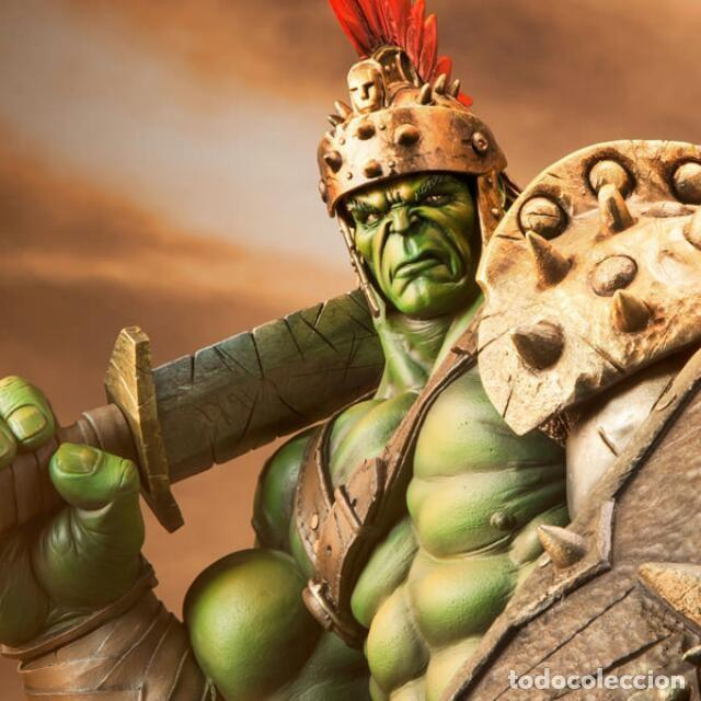Figuras y Muñecos Marvel: HULK GLADIATOR SIDESHOW PREMIUM FORMAT ESTADO COMO NUEVO MIRE MAS ARTICULOS - Foto 5 - 170895375