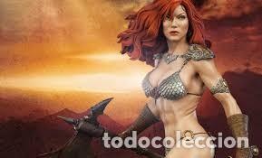 Figuras y Muñecos Marvel: RED SONJA SIDESHOW EXCLUSIVE PREMIUM FORMAT ESTADO COMO NUEVO MIRE MAS ARTICULOS - Foto 3 - 170895625