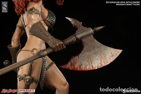 Figuras y Muñecos Marvel: RED SONJA SIDESHOW EXCLUSIVE PREMIUM FORMAT ESTADO COMO NUEVO MIRE MAS ARTICULOS - Foto 4 - 170895625
