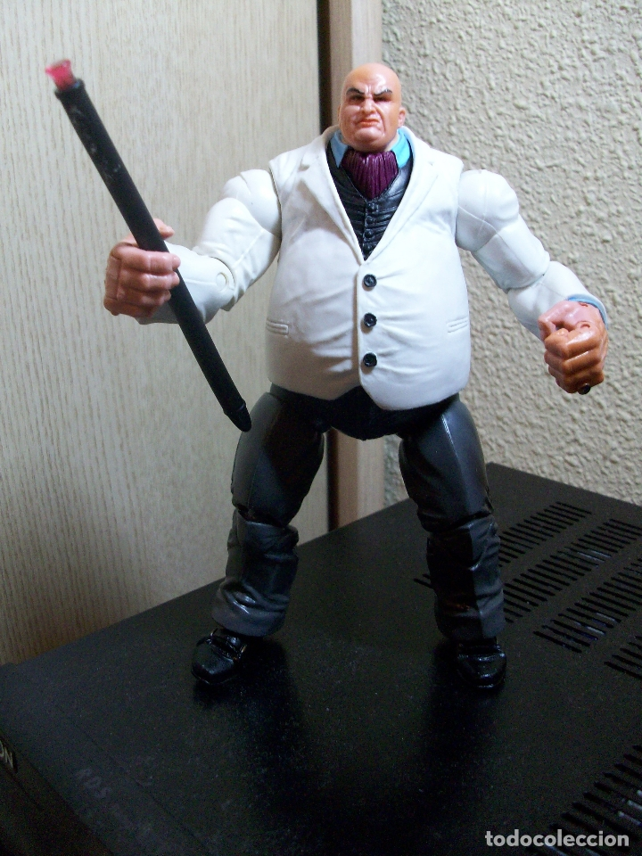 Figuras y Muñecos Marvel: MARVEL LEGENDS KINGPIN TOYBIZ FACE OFF PACK SERIES - Foto 2 - 171083888