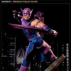 Figuras y Muñecos Marvel: HAWKEYE PREMIUM FORMAT SIDESHOW ESTADO MUY BUENO COMO NUEVO . Lote 171278434