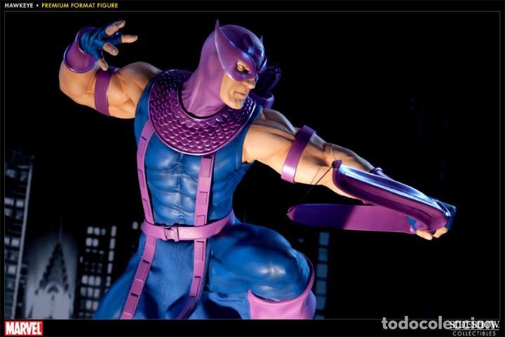 Figuras y Muñecos Marvel: HAWKEYE PREMIUM FORMAT SIDESHOW ESTADO MUY BUENO COMO NUEVO - Foto 2 - 171278434