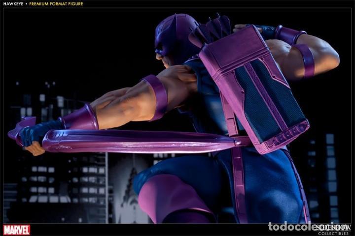 Figuras y Muñecos Marvel: HAWKEYE PREMIUM FORMAT SIDESHOW ESTADO MUY BUENO COMO NUEVO - Foto 3 - 171278434