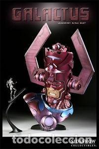 GALACTUS BUST SIDESHOW LEGENDARY ESTADO COMO NUEVO PRECIO NEGOCIABLE (Juguetes - Figuras de Acción - Marvel)