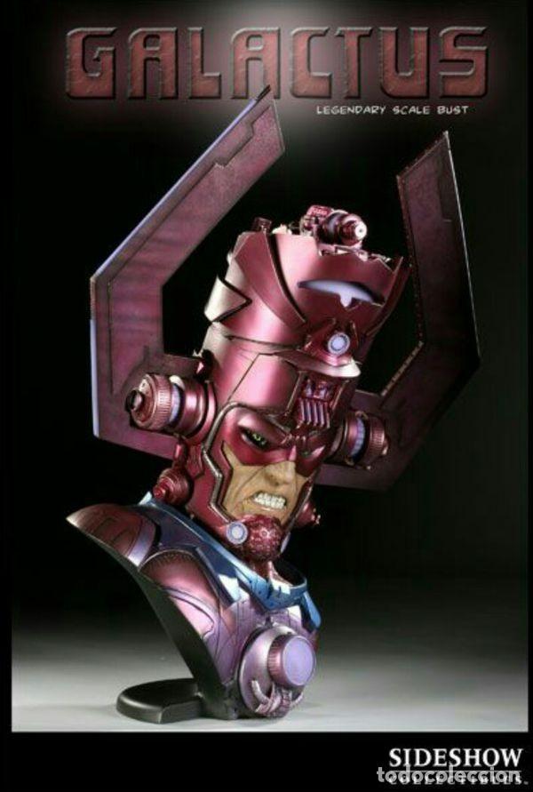 Figuras y Muñecos Marvel: GALACTUS BUST SIDESHOW LEGENDARY ESTADO COMO NUEVO PRECIO NEGOCIABLE - Foto 2 - 171280053