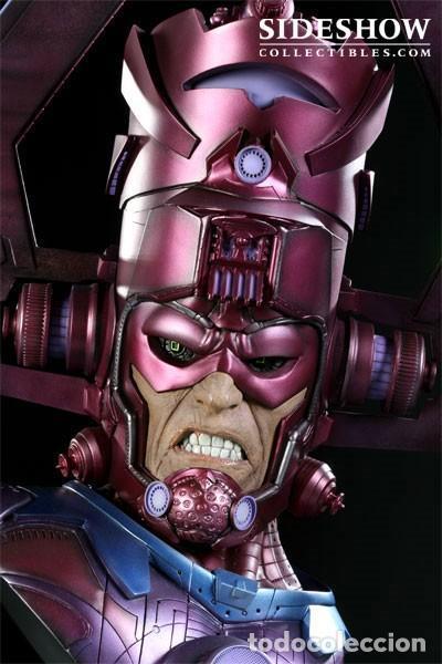 Figuras y Muñecos Marvel: GALACTUS BUST SIDESHOW LEGENDARY ESTADO COMO NUEVO PRECIO NEGOCIABLE - Foto 3 - 171280053