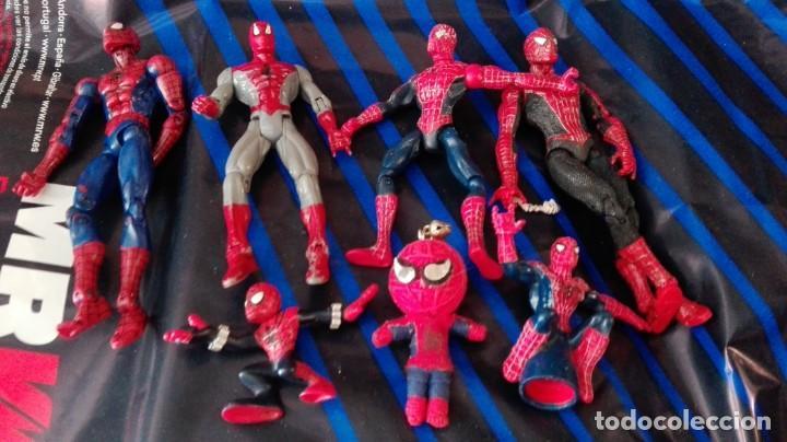 LOTE 7 SPIDERMAN (Juguetes - Figuras de Acción - Marvel)