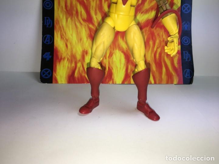 Figuras y Muñecos Marvel: FIGURA PYROS MARVEL X-MEN DE TOY BIZ - Foto 3 - 172060307