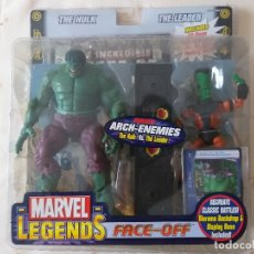 Figuras y Muñecos Marvel: MARVEL LEGENDS HULK LEADER LIDER FACE OFF PACK TOYBIZ . Lote 172236457