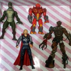 Figuras y Muñecos Marvel: LOTE DE 4 FIGURAS CON DEFECTOS, MARVEL GORMITI, MCFARLANE, PARA PIEZAS O REPARAR. Lote 172724784