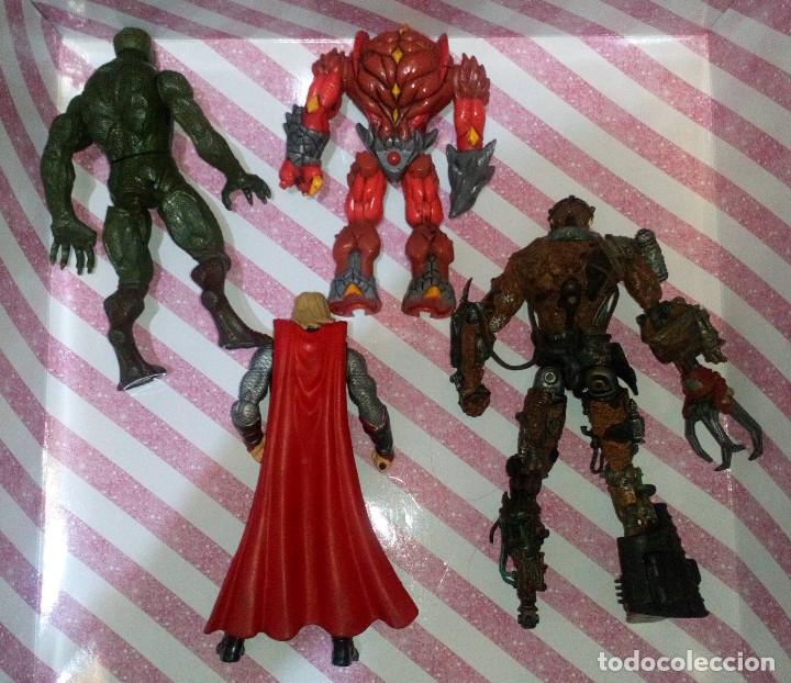 Figuras y Muñecos Marvel: LOTE DE 4 FIGURAS CON DEFECTOS, MARVEL GORMITI, MCFARLANE, PARA PIEZAS O REPARAR - Foto 2 - 172724784