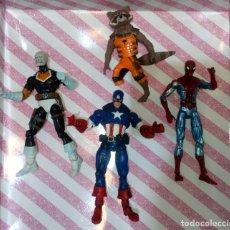 Figuras y Muñecos Marvel: LOTE DE 4 FIGURAS MARVEL CON DEFECTOS, PARA PIEZAS O REPARAR. Lote 172725127