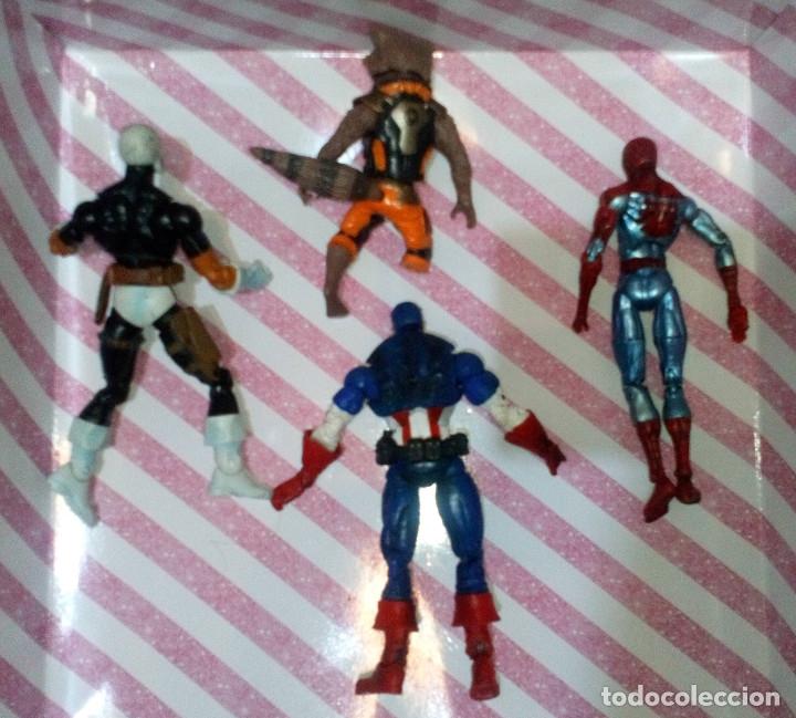 Figuras y Muñecos Marvel: LOTE DE 4 FIGURAS MARVEL CON DEFECTOS, PARA PIEZAS O REPARAR - Foto 2 - 172725127
