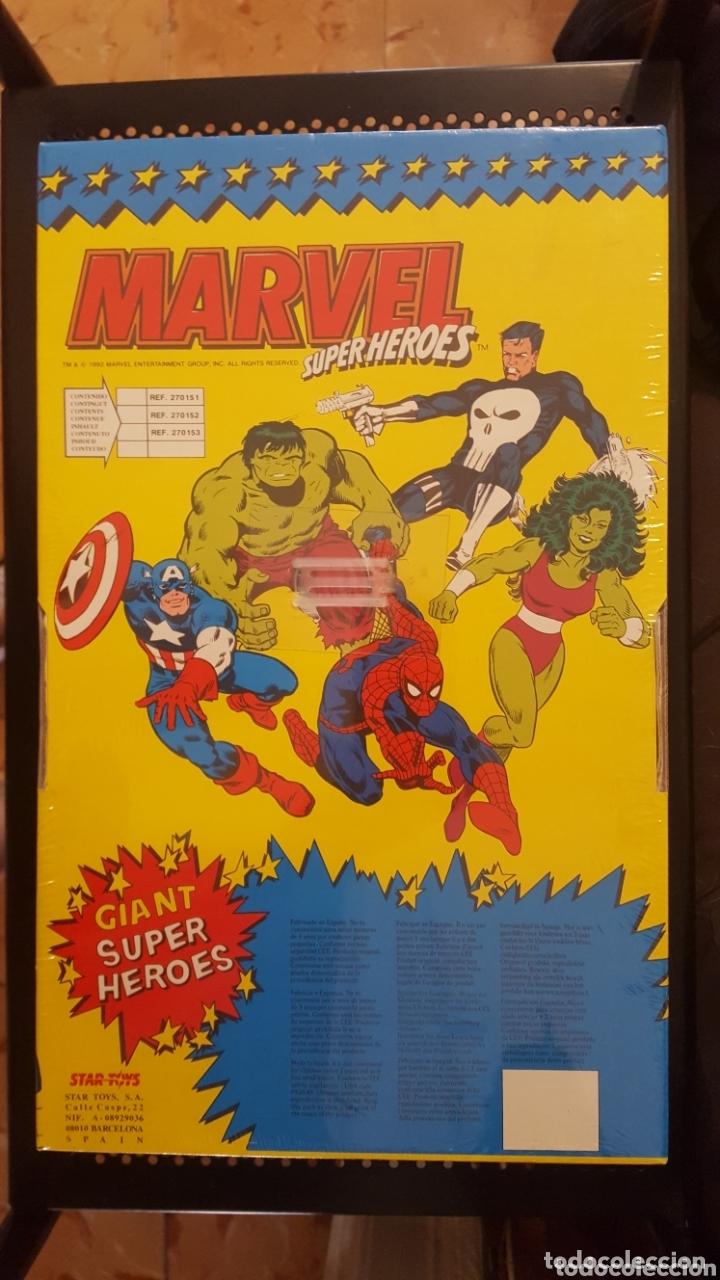 Figuras y Muñecos Marvel: Figura - Spider-man - Star Toys - Ultra Rare spiderman Vintage Star Toys - Made In Spain - Foto 4 - 172895425